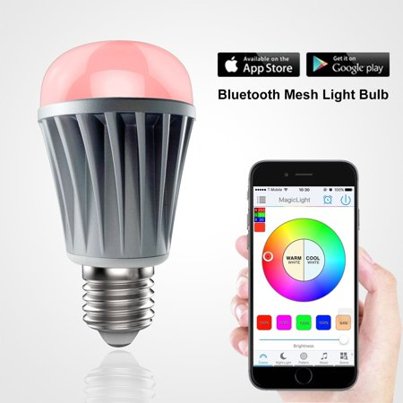 Magiclight bluetooth mesh led light bulb control up to - Control lights with smartphone ...