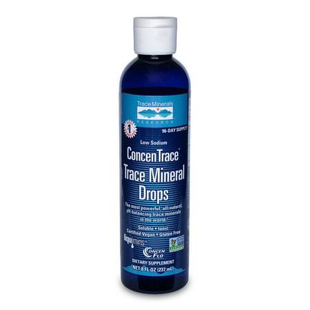 ConcenTrace Trace Mineral Drops Trace Minerals 8 oz