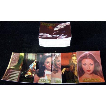 1996 Dart Battlestar Galactica Trading Card Set (72) Nm/Mt