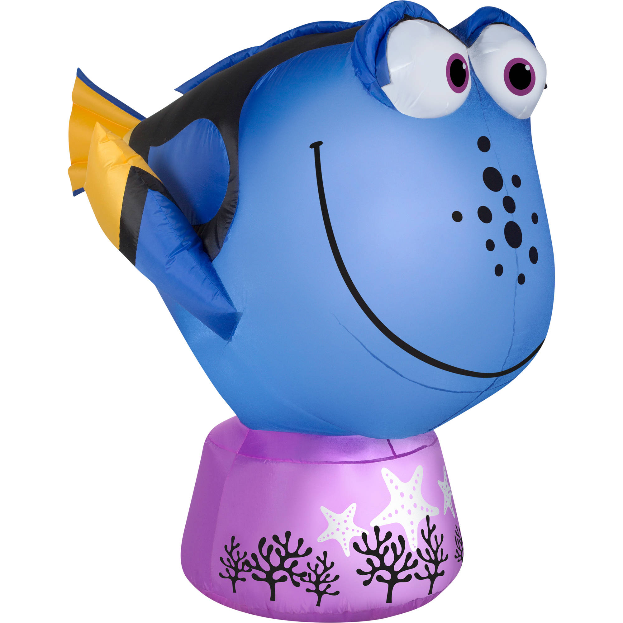 Gemmy Airblown Inflatable 3.5' X 4.5' Finding Dory Halloween Decoration