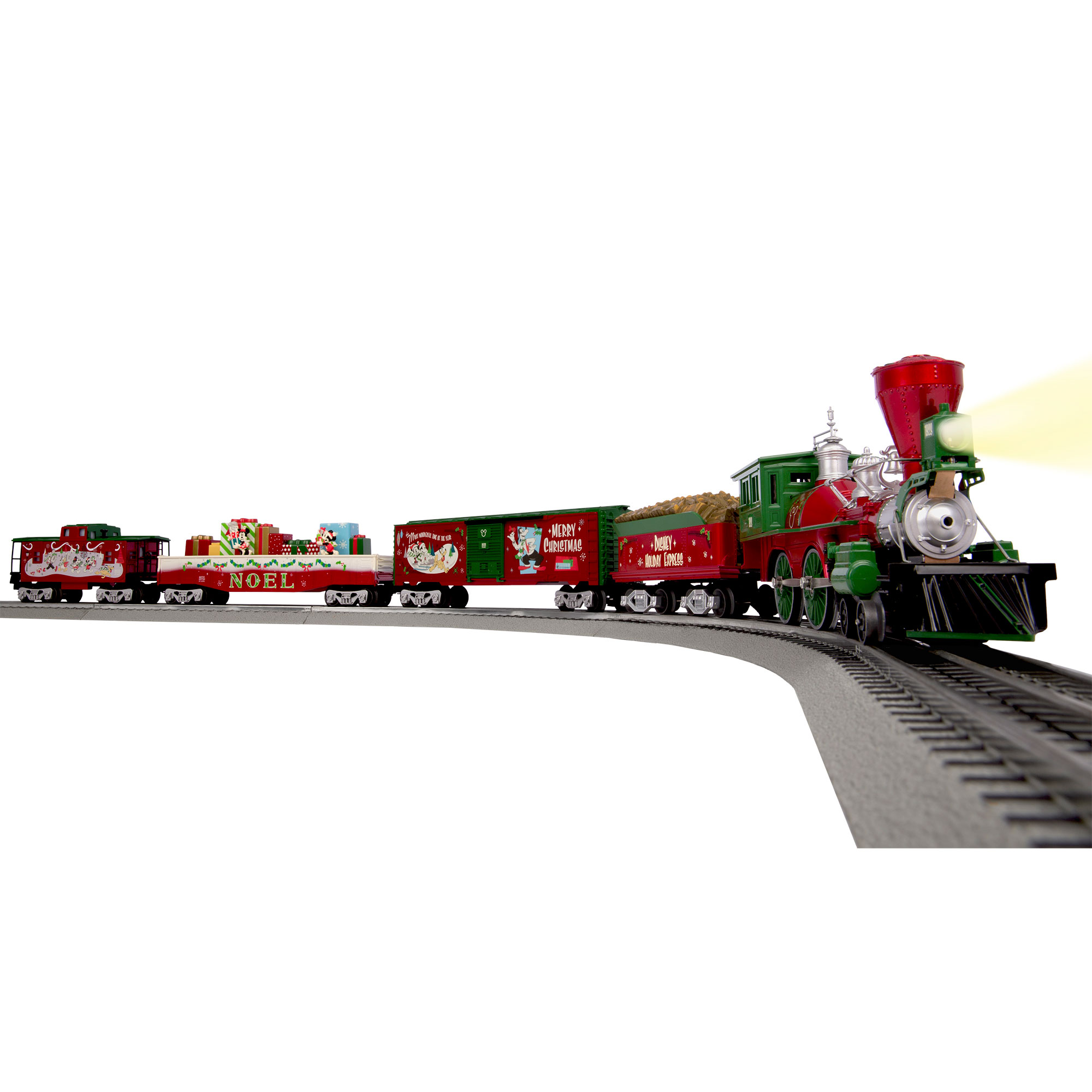 Lionel Mickey's O-Gauge Disney Christmas Train Set