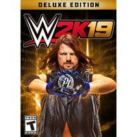 WWE 2K19 - Digital Deluxe, 2K, PC, [Digital Download], 685650095196