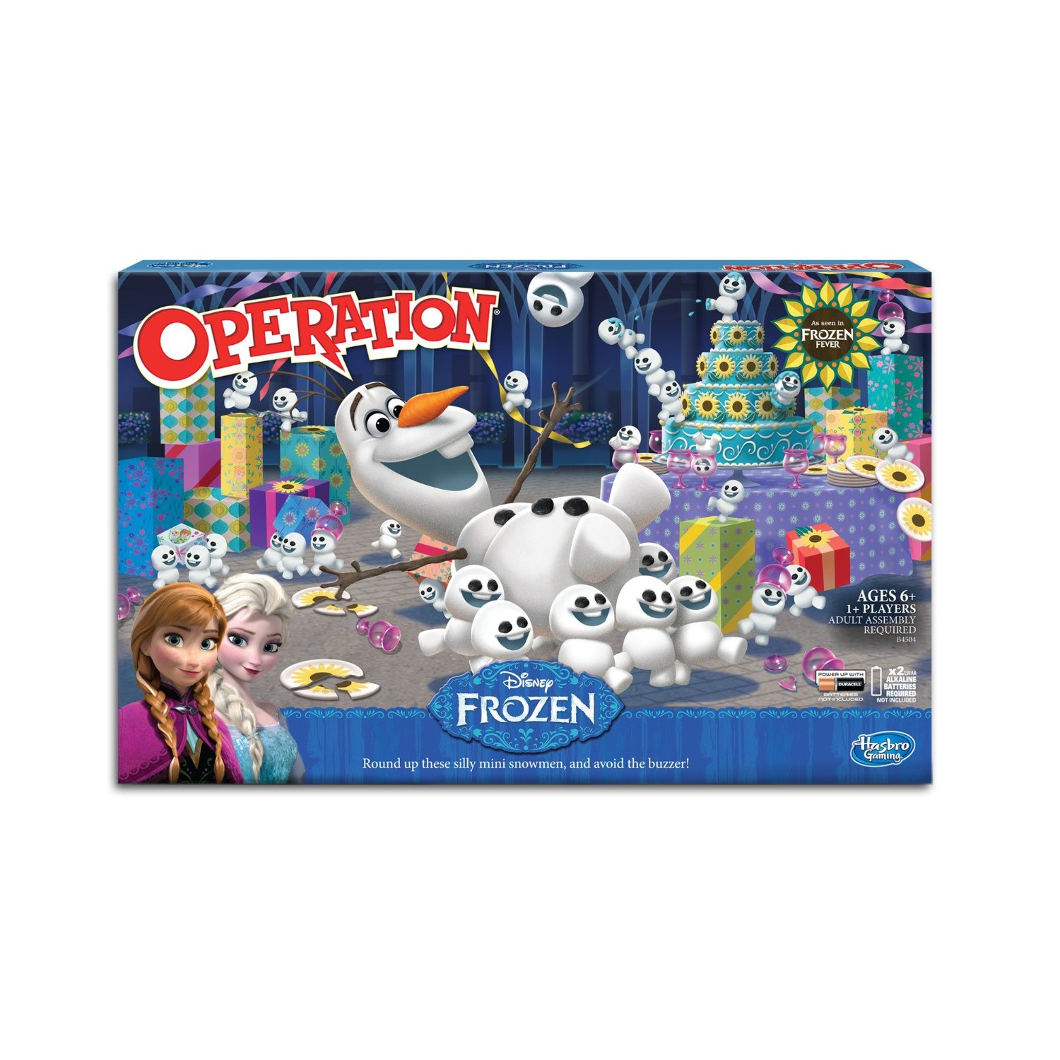 Olaf Operation Board Game, Ditch the TV, and re-ignite family night with the get-together... by