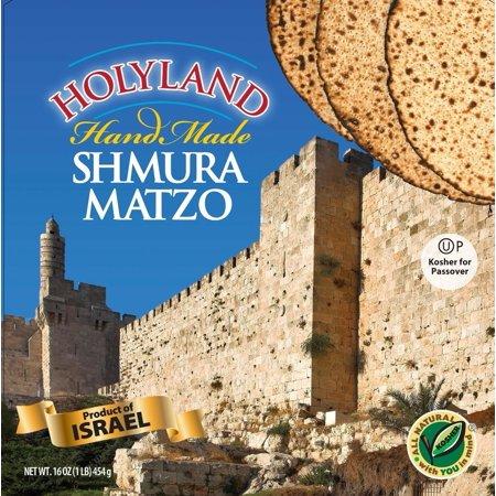 Holyland Round Shmura Matzo, 16 oz (Kosher for Passover)
