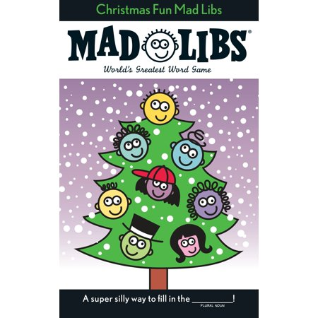 Christmas Fun Mad Libs : Stocking Stuffer Mad - Stocking Stuffers Men