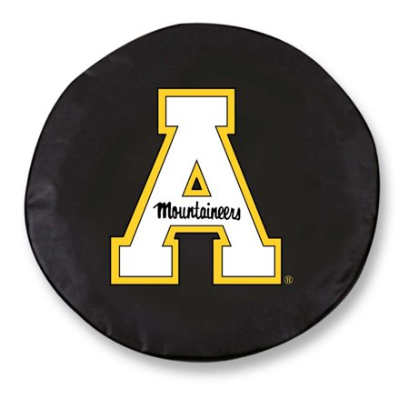 (Appalachian State Standard Tire Cover (Black))
