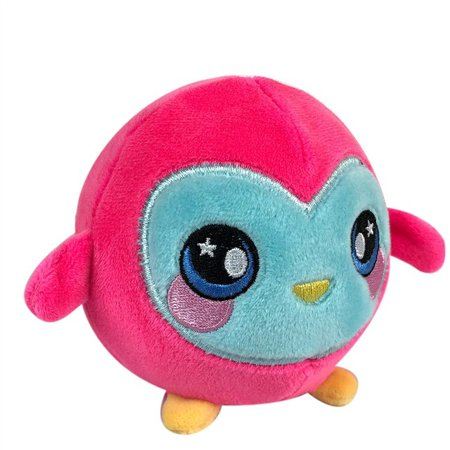 Squishamals Ollie The Owl 3.5‑inch Plush - Ollie The Ostrich