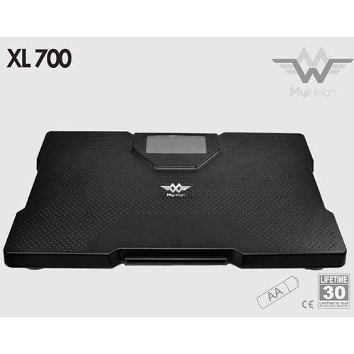 My Weigh Xl-700 Talking Bathroom Scale 700 Lb 320kg