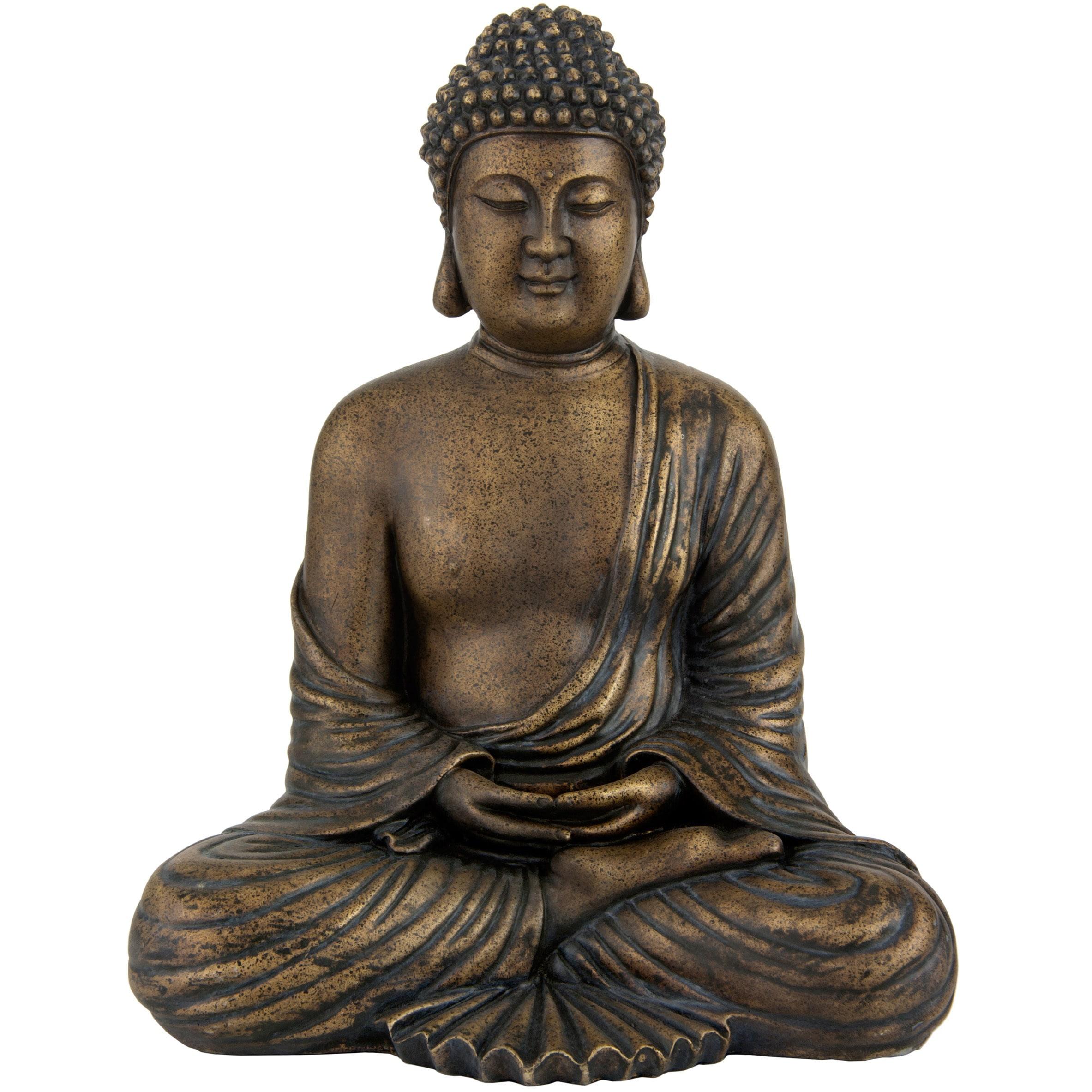 "12"" Japanese Meditating Buddha Statue"