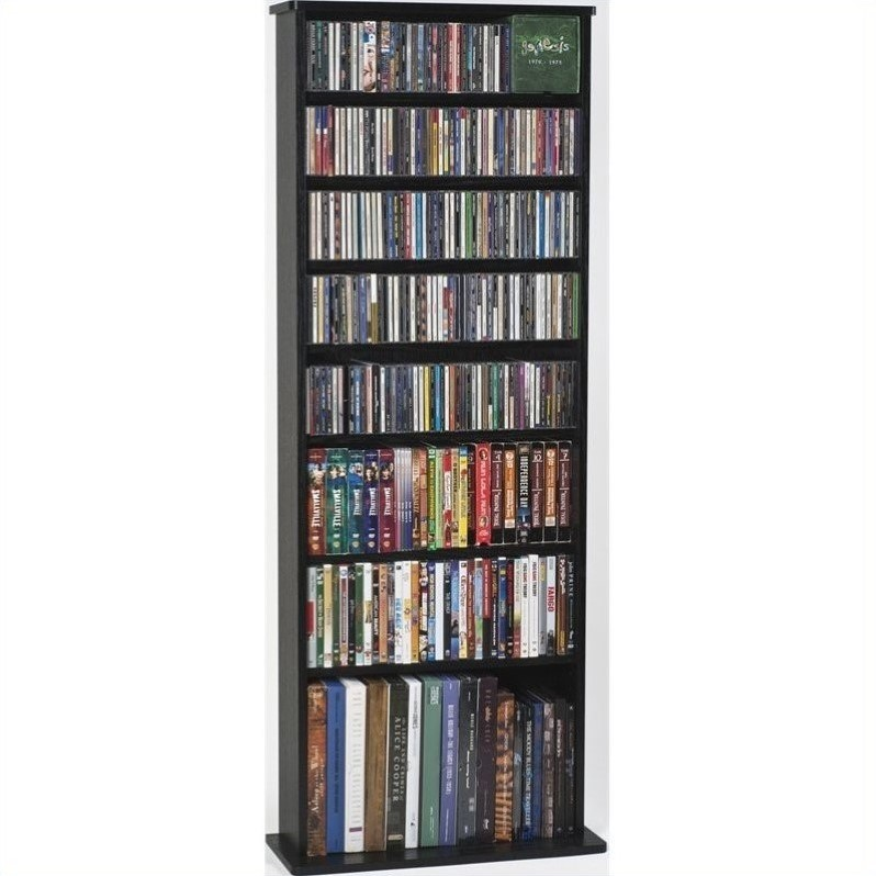"Leslie Dame 64"" High Capacity Wall Rack in Black"