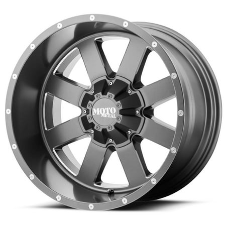 Metal Wheel - Moto Metal MO962 18x12 8x180 -44mm Satin Gray Wheel Rim
