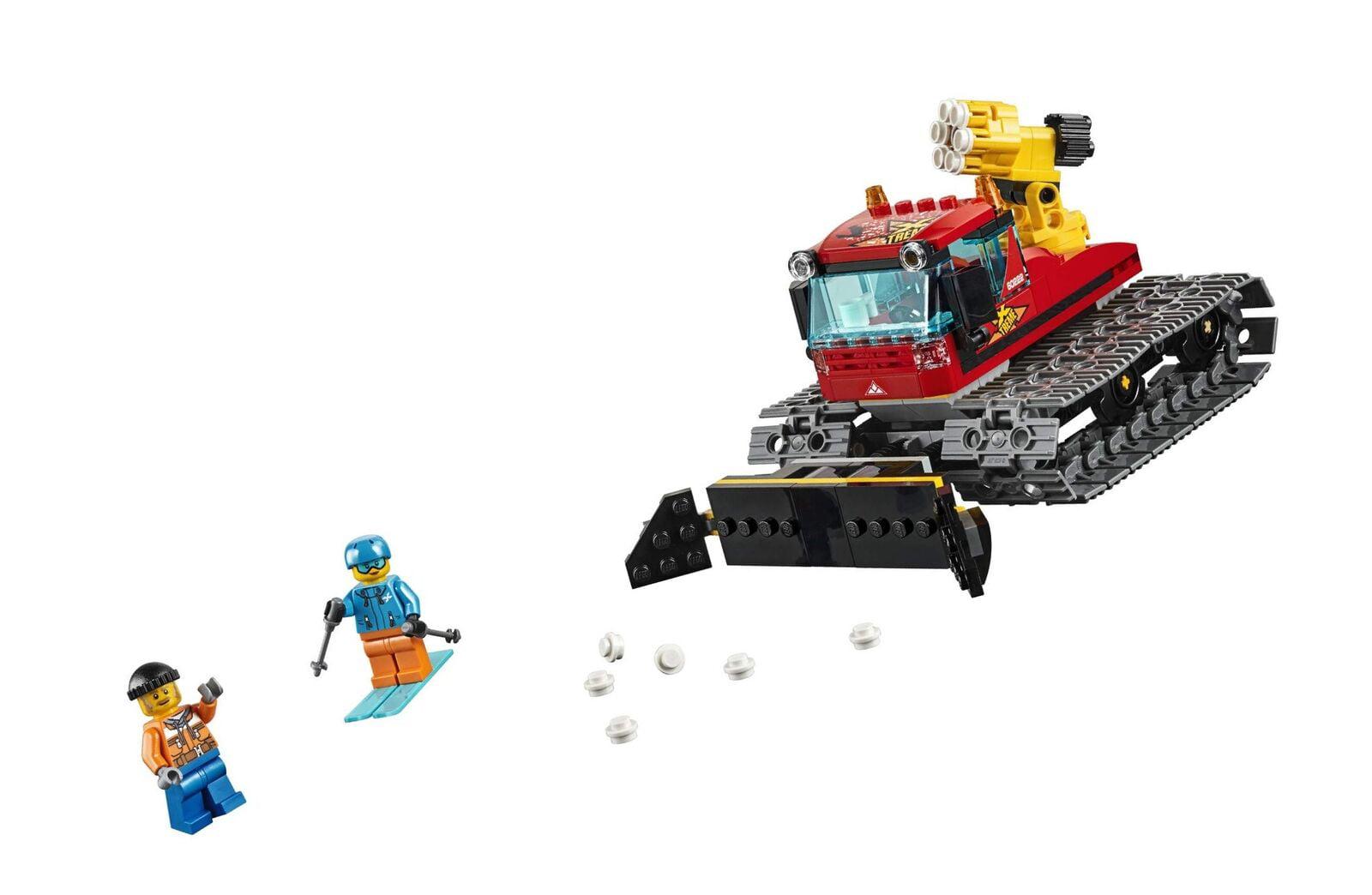 Building Lego Vehicles Piece Great Groomer 60222 City Kit197 Snow ZOPikuX