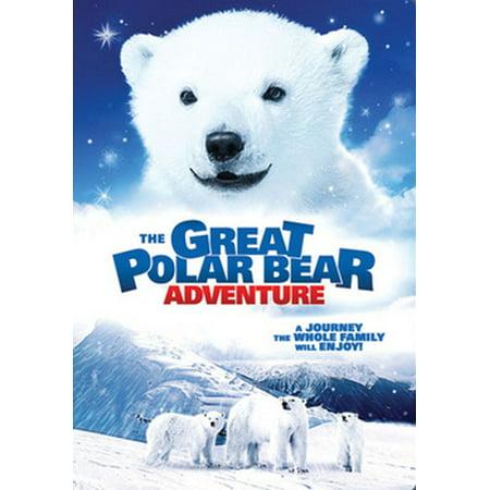 The Great Polar Bear Adventure (DVD) (Animal Planet Dinosaurs)