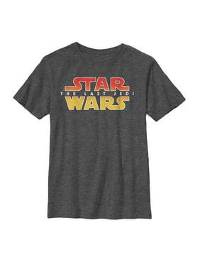 Star Wars The Last Jedi Boys' Logo T-Shirt