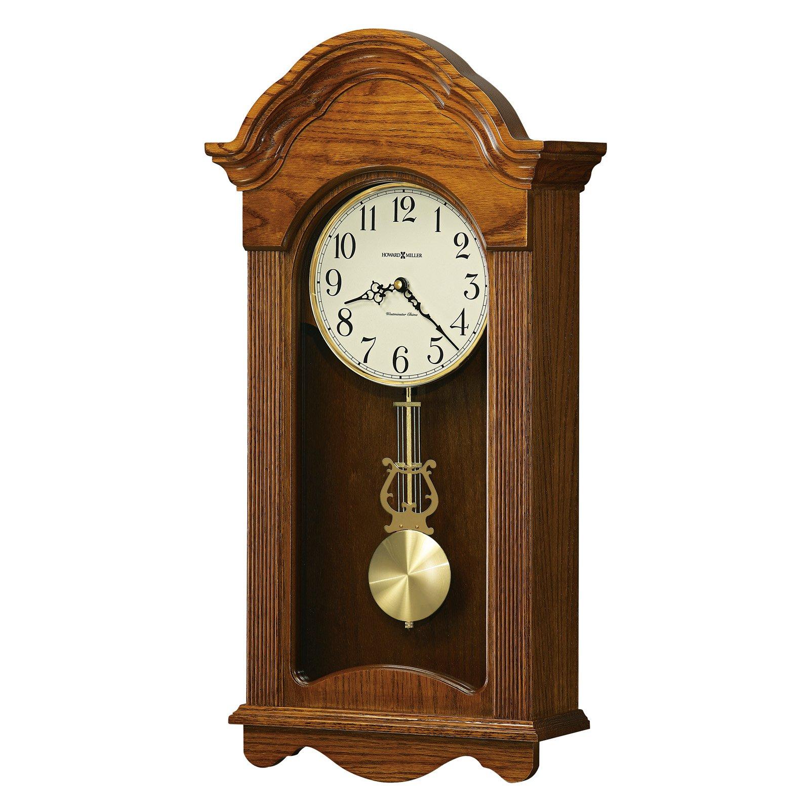 Howard Miller 625-467 Jayla Wall Clock 12.25-in. Wide by Howard Miller