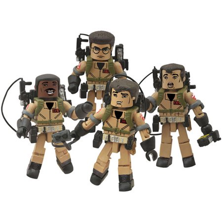 Diamond Select Toys Ghostbusters Minimates I Love This Town Box Set