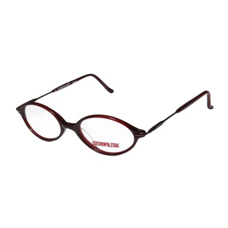 28c81bc2a27 New Cosmopolitan Racey Womens Ladies Designer Full-Rim Ruby Frame Demo  Lenses 47-16-135 Spring Hinges Eyeglasses Eyewear - Walmart.com