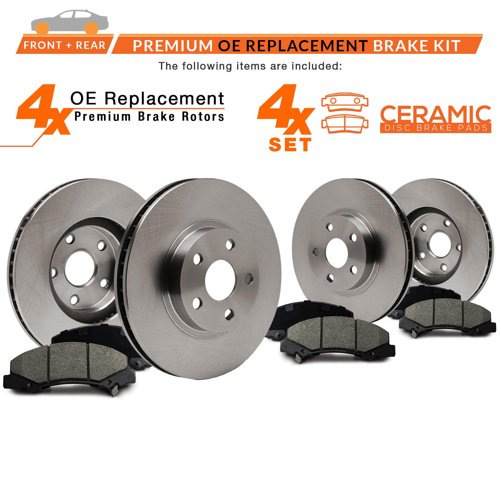 Max Brakes Front Ceramic Pads KT008451-5