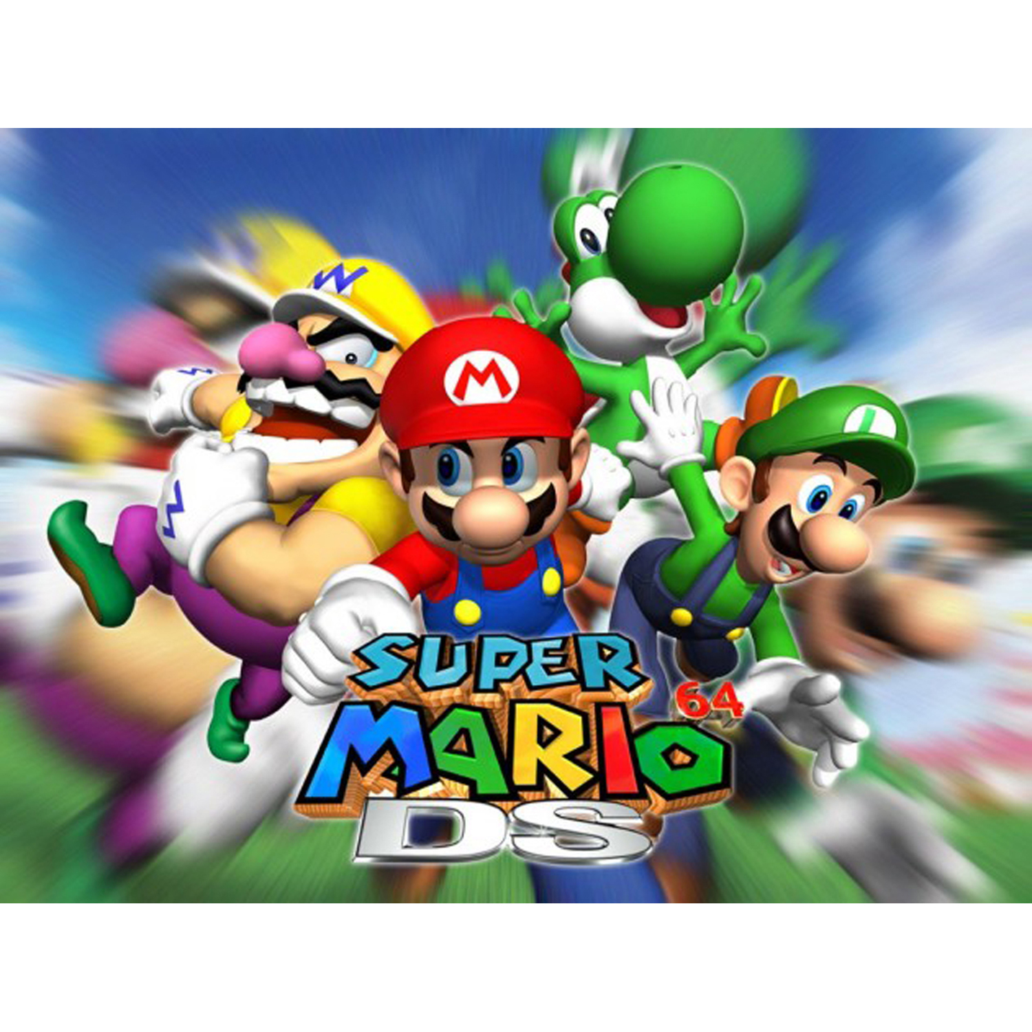 Super Mario 64 DS, Nintendo, WIIU, [Digital Download], 0004549666159