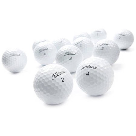 - Titleist DT Solo Golf Balls, Yellow, Used, Mint Quality, 12 Pack