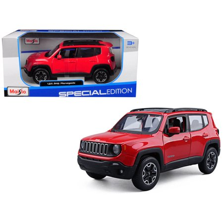 Jeep Renegade Red 1/24 Diecast Model Car by (1977 Jeep Renegade)