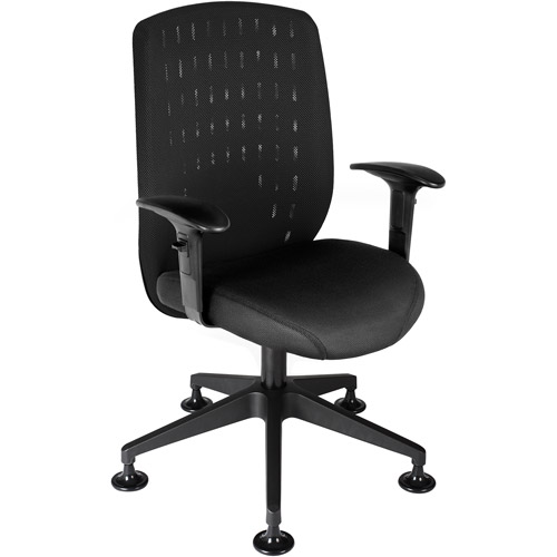 OFM Vision Executive Guest Chair with Removable Mesh Cover