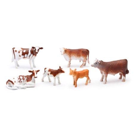 Country Life Farm Animal Set, Cows and Calves