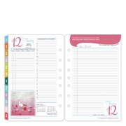 Classic Her Point of View Ring-bound Daily Planner - Jul 2016 - Jun 2017