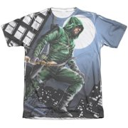 Arrow Night Watch (Front Back Print) Mens Sublimation Shirt