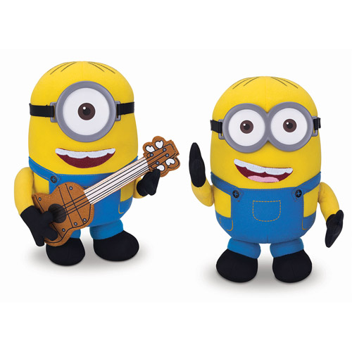 Minions Build A Minion Plush