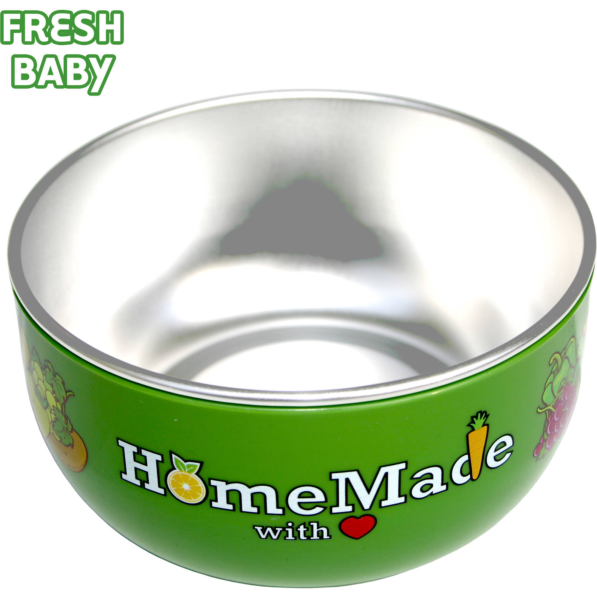 Fresh Baby - So Easy Baby Bowl with Lid, BPA-Free