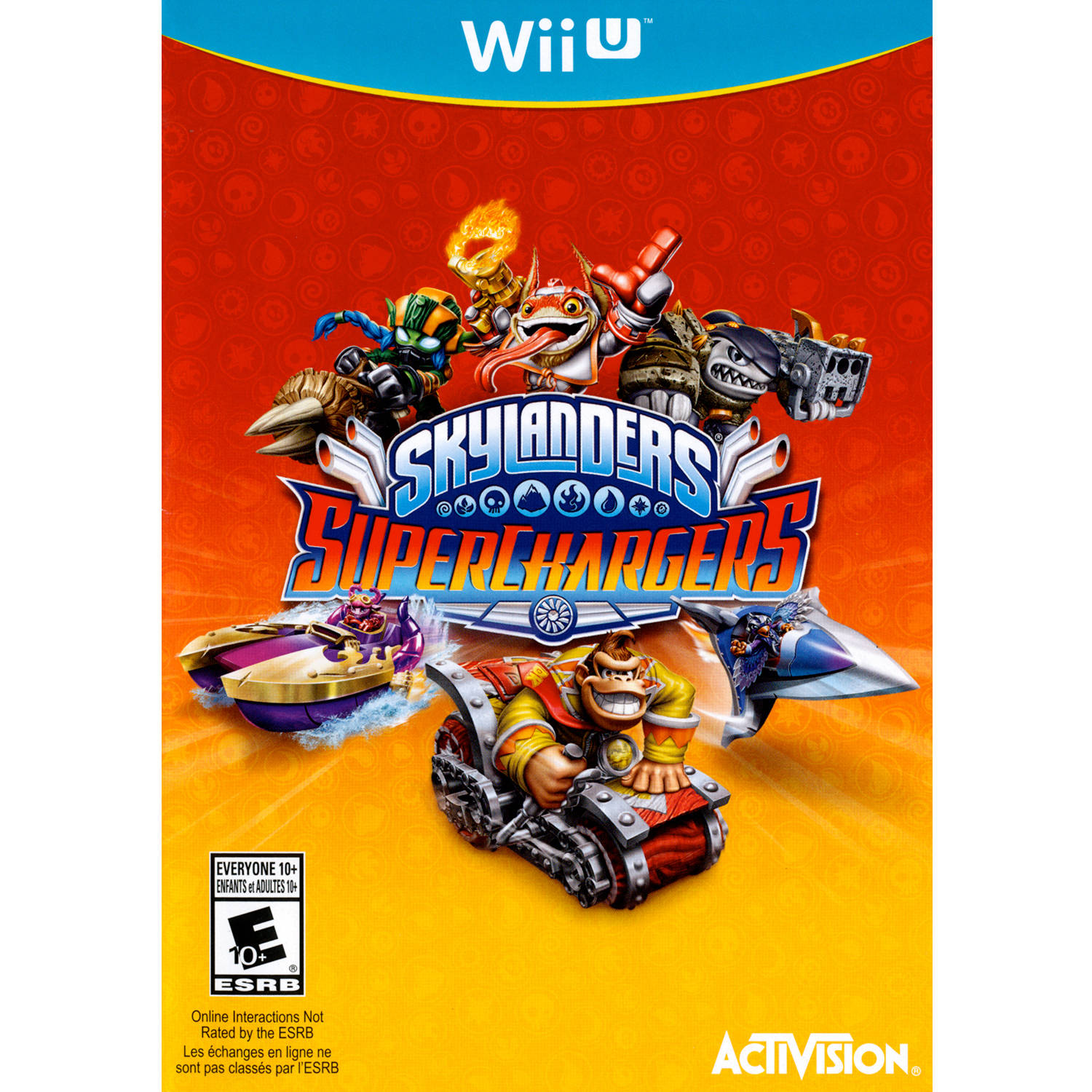 Activision Blizzard Inc Skylanders Supcharger Game (Wii U)  -  Pre - Owned
