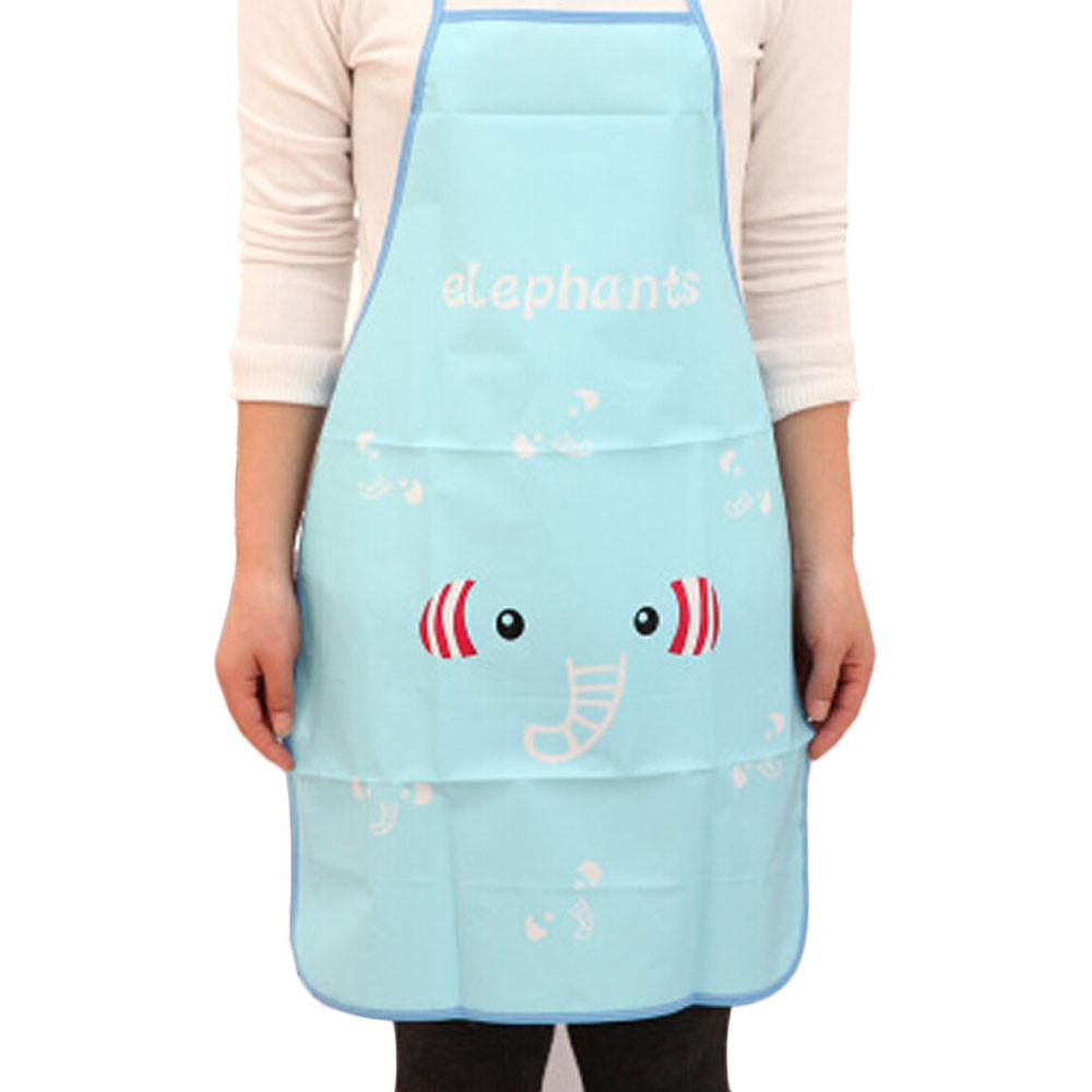 Women Waterproof Cartoon Kitchen Cooking Bib Apron PK - Walmart.com