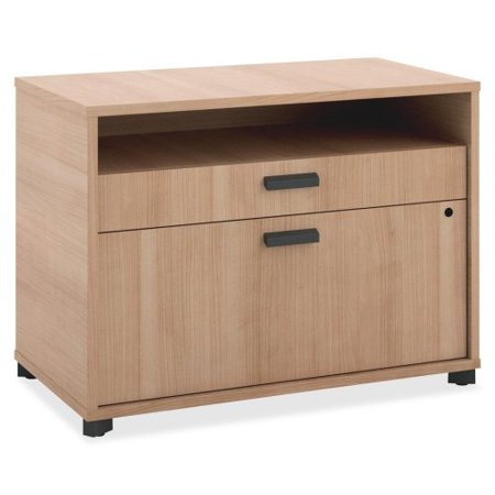 Basyx By Hon Manage Series Wheat Office Furniture Collection   30  Width X 16  Depth X 22  Height   2 X Pencil  File Drawer S    Wheat  Laminate  Mg30fdwha1