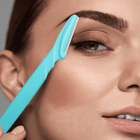 Eyebrow Razor and Face Razor for Women and Men, Trimming and Shaping Eyebrows Pack of (Best Razor For Woman's Face)