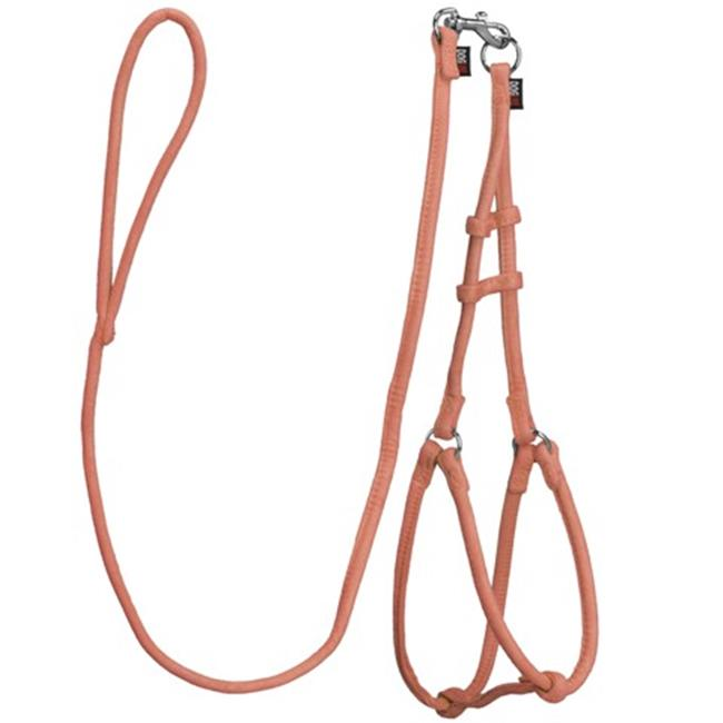 48 L x 0.25 W in. Extra Small Comfort Microfiber Round Step-In Harness, Orange