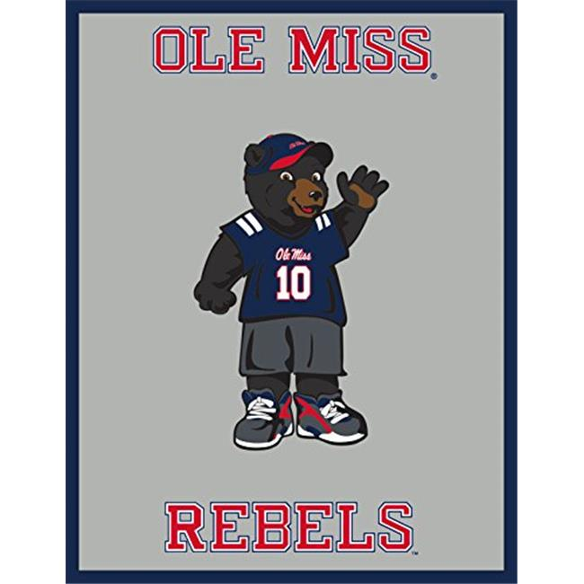 Chrome Domz 637262963707 Ole Miss Youth Fan Mirror