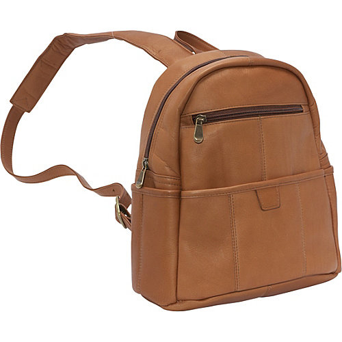 Le Donne Leather Quick Slip Womens Backpack