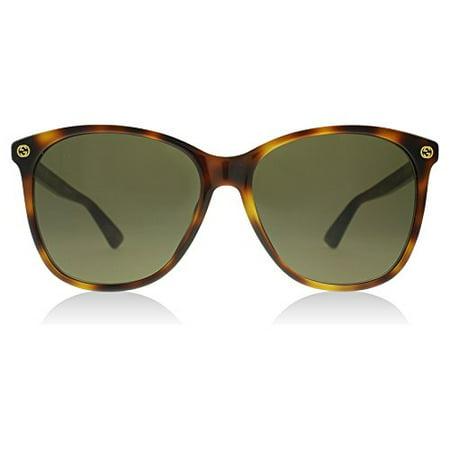7c2da442f33 Gucci - 0024S 002 Havana 0024S Round Sunglasses Lens Category 3 Size 58mm -  Walmart.com