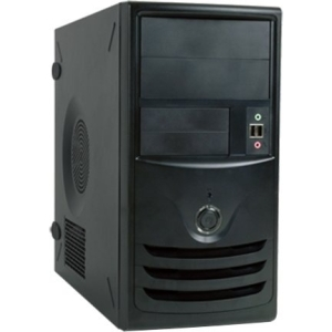 In Win Z589 Mini Tower Chassis with USB3.0 - Mini-tower - Black