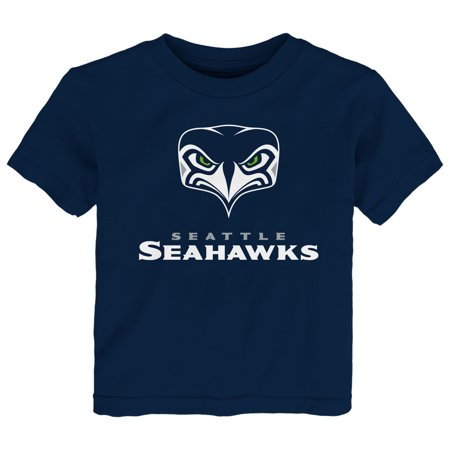 Seattle Seahawks Toddler Alternate Team Logo Gear T-Shirt -