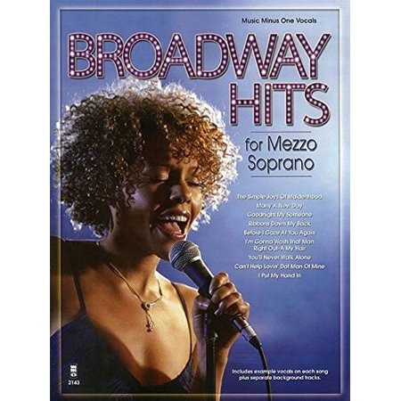 Broadway Hits for Mezzo Soprano (CD)