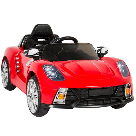 12V Ride On Car Kids W/ MP3 Electric Battery Power Remote Control RC Red