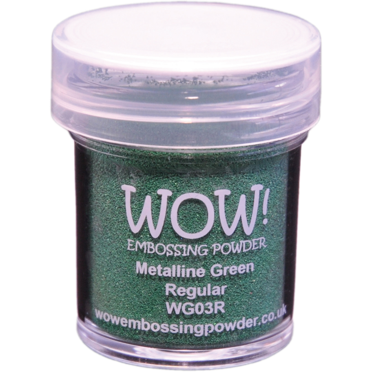 WOW! Embossing Powder 15ml-Green Metalline