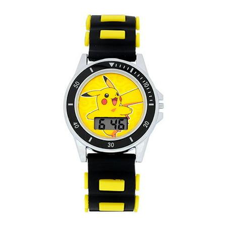 Pokemon - Flashing Strap LCD Watch - Walmart.com 9cf1b069f4597