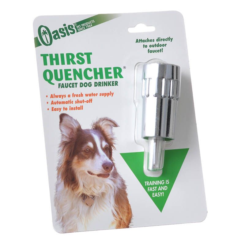 Oasis Thirst Quencher - Heavy Duty Dog Waterer Dog Waterer - Pack of 4