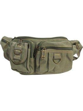 4e11cc758ca Product Image Multiple Pocket Travel Hip Belt Waist Bag Fanny Pack (Black)