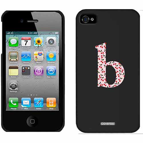 Pretty Prints B Design on Apple iPhone 4/4s Thinshield Snap-On Case by Coveroo