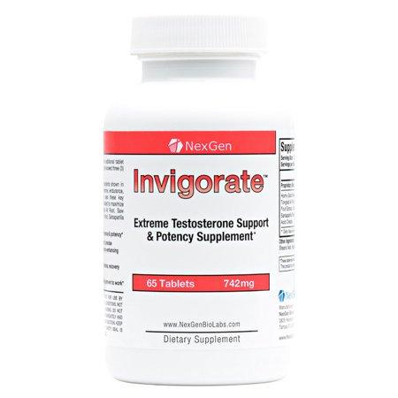 Invigorate - All Natural Herbal Supplement Supporting Testosterone & Male Potency
