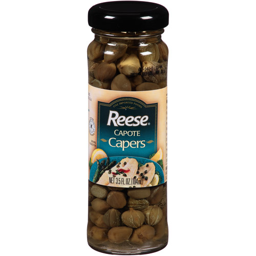 Reese Capote Capers, 3.5 fl oz, (Pack of 12)